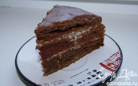 Рецепт Шоколадный торт на кефире