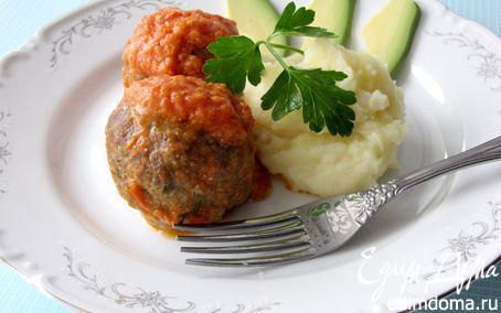 Рецепт Мясные шарики по-итальянски