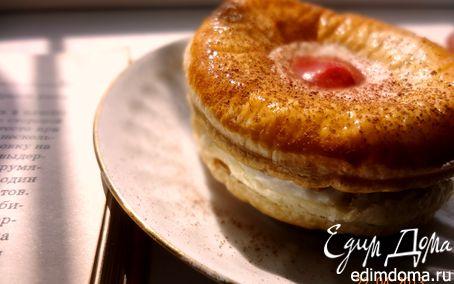 Рецепт Нежное слоеное пирожное