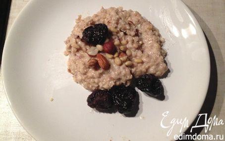 Рецепт Каша с сухофруктами и орехами в мультиварке