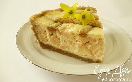 Рецепт Будайский яблочно-творожный пирог
