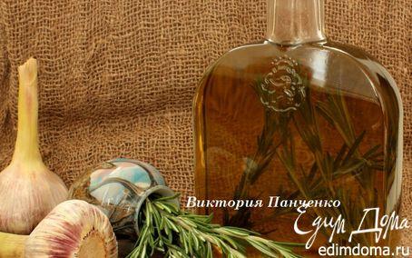 Рецепт Оливковое масло с чесноком и розмарином