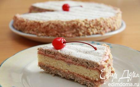 Рецепт Цугский вишневый торт (Zuger Kirschtorte)