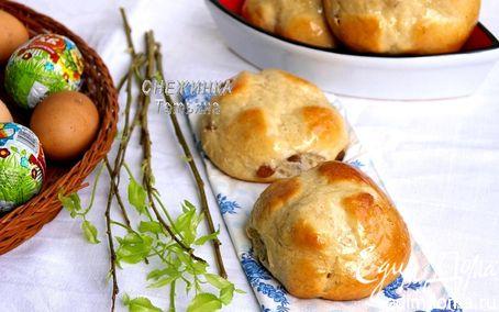 Рецепт Английские пасхальные булочки (Hot cross buns)