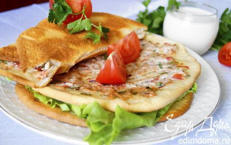 Рецепт Лахмаджун - Турецкие лепешки