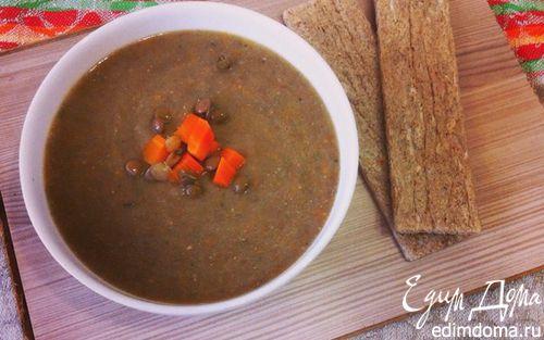 Рецепт Чечевичный суп-пюре (Mercimek çorba)