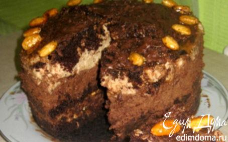 """Рецепт Торт """"Шоколадное капучино"""""""