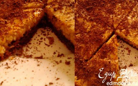 Рецепт Пирог с шоколадом и черносливом