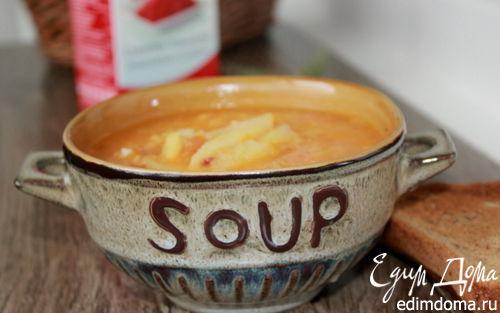 Рецепт Итальянский суп с чечевицей