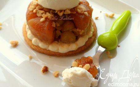 Рецепт Запеченные и замороженные яблоки или а-ля Тарт-татен (Вкус лета)