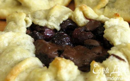 Рецепт Галеты с черешней и шоколадом