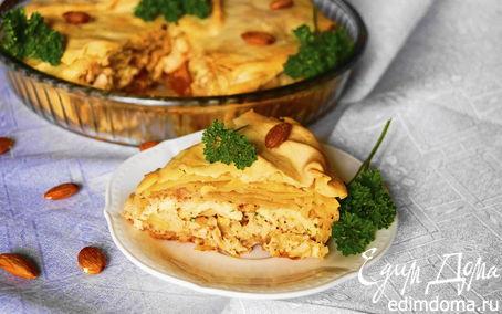 Рецепт Бастийя с курицей (Chicken B'Stilla)