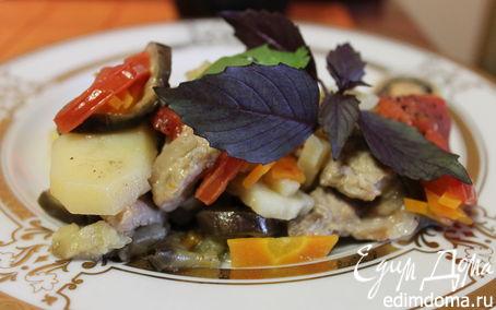 Рецепт Сотэ с мясом и овощами