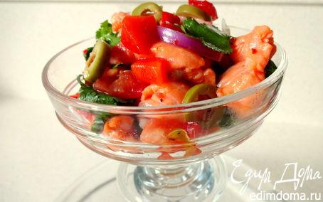 Рецепт Севиче из лосося