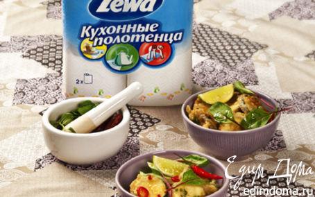 Рецепт Цукини и баклажаны в темпуре с азиатским соусом