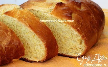 Рецепт Мятно-апельсиновый хлеб от Ришара Бертине