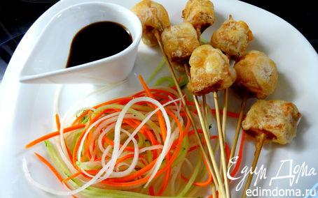 Рецепт Темпура из семги
