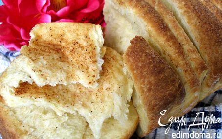 Рецепт Слоеный сладкий хлеб с корицей
