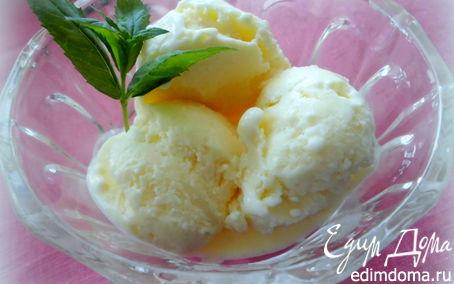 Рецепт Ванильное мороженое