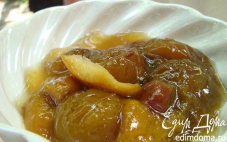 Рецепт Варенье из белых слив и апельсина