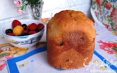 Рецепт Хлеб сладкий на йогурте с вишней для хлебопечки в хлебопечке
