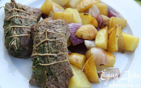 Рецепт Баранина с ароматными травами