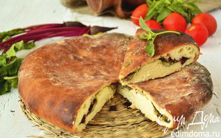 Рецепт Цахараджин - осетинские пироги со свекольными листьями и сыром