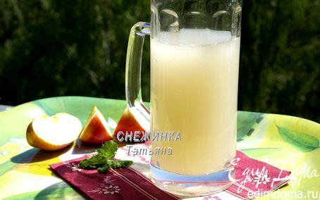 Рецепт Яблочный квас («Прохладительные напитки»)