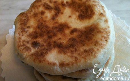 Рецепт Лепешки с творожно-сырной начинкой
