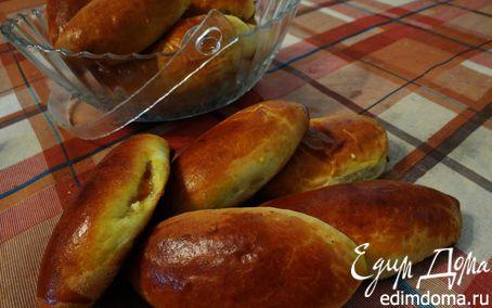 Рецепт Сладкие печеные пирожки с абрикосами