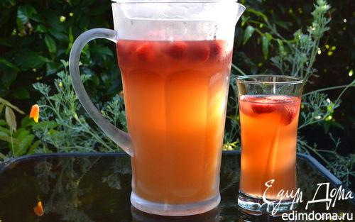 Рецепт Персиковый холодный чай