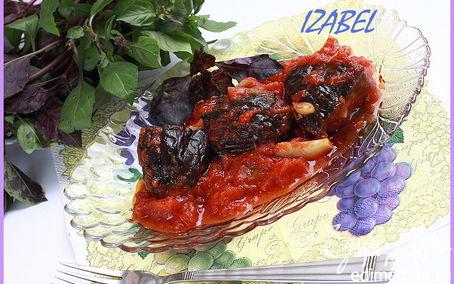 Рецепт Баклажаны в томатном соусе по-армянски