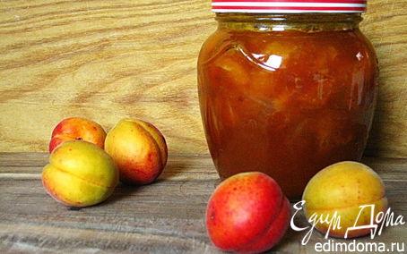 Рецепт Абрикосовый джем с кусочками абрикосов