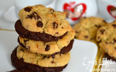 "Рецепт ""Влюбленное"" печенье (Cookies-in-love)"