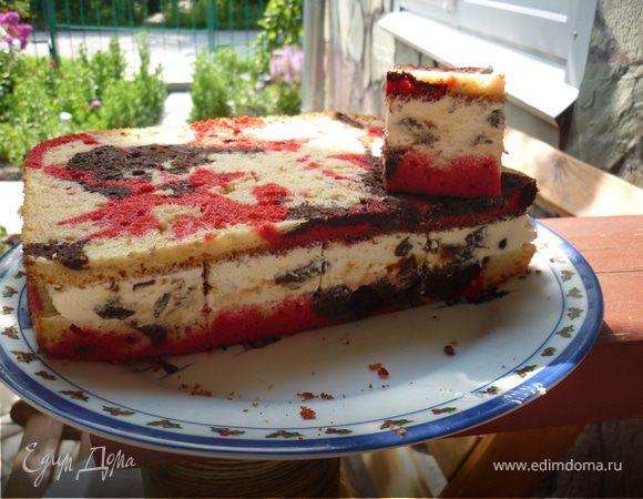 """пирог """"всполохи страсти"""""""