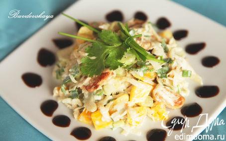 Рецепт Салат из сельдерея и курицы