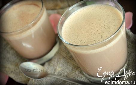 Рецепт Шоколадный латте с ароматом ванили