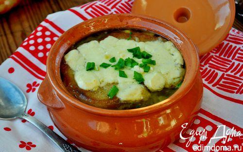 Рецепт Луковый суп по-болгарски