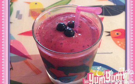 Рецепт Воскресный ягодный смузи
