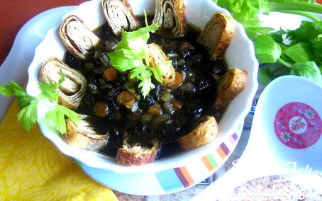"""Рецепт Японский грибной суп (""""Неделя японской кухни"""")"""
