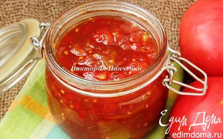 Рецепт Пряный томатно-яблочный джем