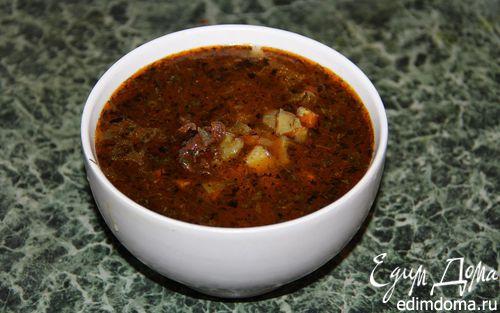 Рецепт Тат - картофельный суп (Постная модификация)