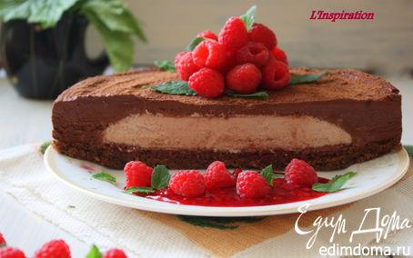 """Рецепт Шоколадный торт-мусс """"Сюрприз"""""""