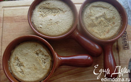 Рецепт Запеченный мусс из белых грибов со сметаной