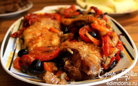 Рецепт Морской окунь с пряным перцем