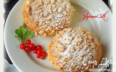 Рецепт Булочки с кокосом и миндальным штрейзелем