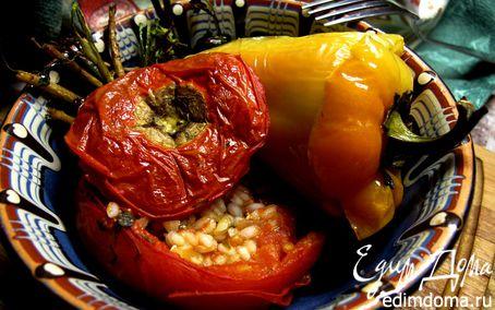 Рецепт Фаршированные томаты и перцы Yemista
