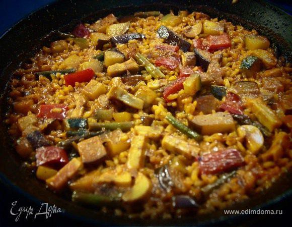 Паэлья ди вердура, или Овощная вариация на испанскую тему