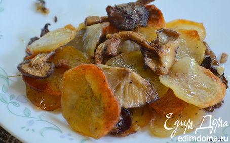 Рецепт Картофельный галетте с грибами (Potato Galette with Mushrooms)