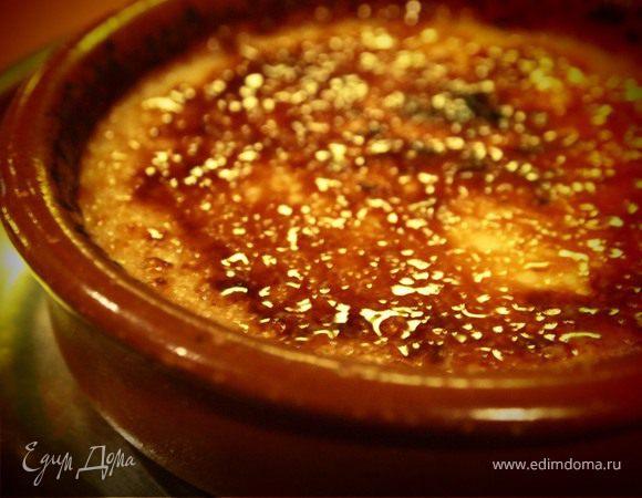 Крема каталана, или Испанский крем-брюле